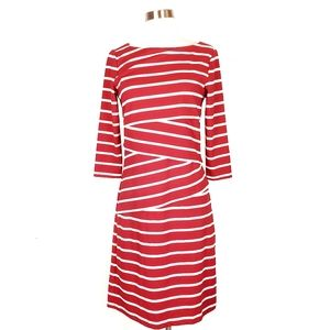 J. McLaughlin boat neck Catalina cloth dress